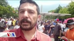 Venezuela'da Muhalifler Guaido'nun Çağrısıyla Toplandı