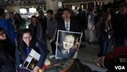 中国人权律师夏霖的儿子夏崇禹