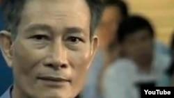FILE - Vietnamese dissident blogger Dieu Cay.