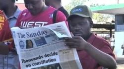 津巴布韋選民廣泛支持限制總統權力的法律