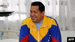 Президент Венесуели Чавес під час перебування на Кубі