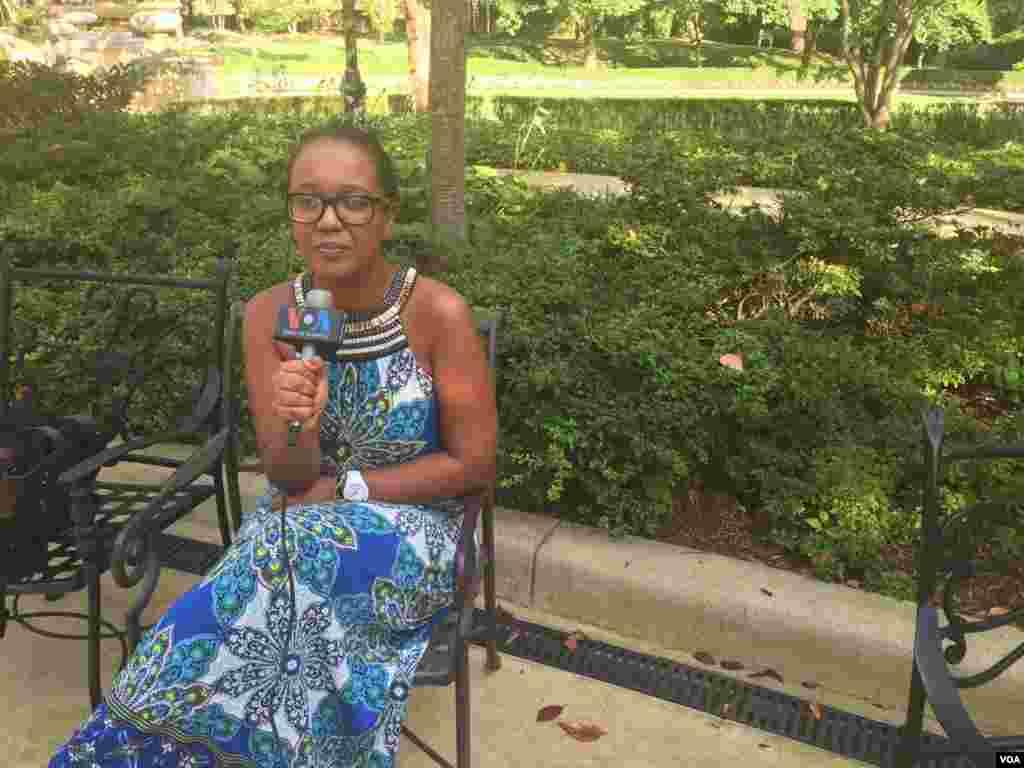 """""""Sonho capacitar jovens a concretizarem os seus sonhos"""" Ângela Sá, Angola"""