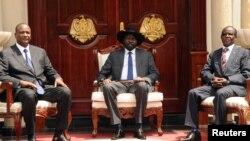 Shugabannin kasar Sudan ta Kudu