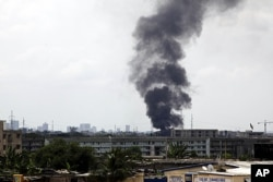 Les combats ont causé d'importants dégâts à Abidjan
