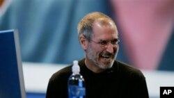 Steve Jobs à San Francisco, le 7 août 2006