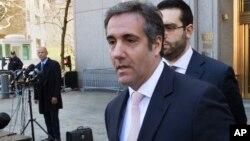 """Michael Cohen, pengacara pribadi Presiden Trump (foto: ilustrasi). Trump mengakui """"mengganti sepenuhnya"""" uang pengacara pribadinya, Michael Cohen untuk """"pengeluaran"""" yang terjadi tahun 2016."""