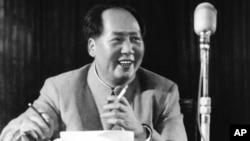 已故中国共产党领袖毛泽东。(资料照片)