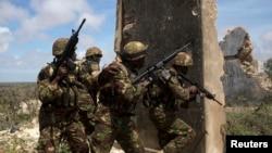 Abasirikare ba Kenya bo mungabo za Amisom, muri Somaliya
