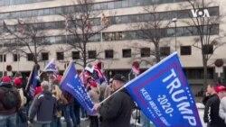 特朗普支持者聚集首都 特區啟動國民警衛隊