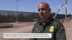 Autoridades estadounidenses piden a migrantes seguir protocolos legales