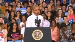 Obama: Trump 'Uniquely Unqualified'