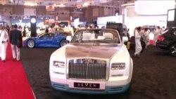 نمایشگاه خودروهای لوکس در عربستان میزبان زنان