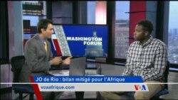 Washington Forum du jeudi 25 août 2016 : le sport africain peut-il faire mieux ?