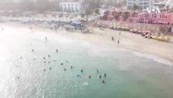 Senegal Aqua Aerobics