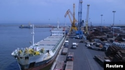 Chabahar Port of Iran