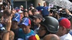 Venezuela: Tintori pide a la OEA defender al pueblo