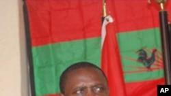 Abílio Kamalata Numa, deputado e secretário-geral da UNITA agora censurado pela Assembleia Nacional