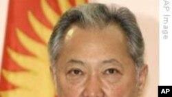 رهبر مخلوع قرغیز هنوز هم ادعای ریاست جمهوری را دارد