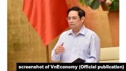 Thủ tướng Việt Nam Phạm Minh Chính.
