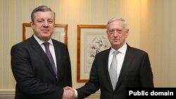 საქართველოს პრემიერ-მინისტრი და ამერიკის თავდაცვის მდივანი