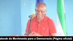 Ulisses Correia e Silva, presidente do MpD e primeiro-ministro de Cabo Verde