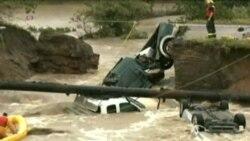 Algunas inundaciones alcanzan los 9 mts de altura