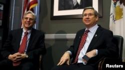 El juez Merrick Garland ya se reunió con el senador republicano Mark Kirk. La próxima semana se reunirá con dos senadores más.