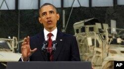 Predsednik Obama u radijskom obraćanju u maju prošle godine ističe da bi novac uštedjen zbog kraja ratova u Iraku i Avgansitanu trebalo da se koristi za ulaganja u zdravstvo, prosvetu i infrastrukturu.