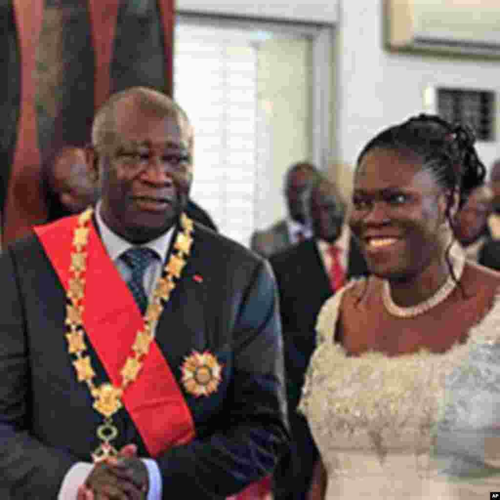 Ouverture du proc s de simone gbagbo le 22 octobre page 1 - Laurent bignolas et son epouse ...