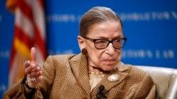 အေမရိကန္ တရား႐ံုးခ်ဳပ္ တရားသူႀကီး Ruth Bader Ginsburg ကြယ္လြန္