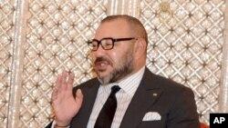Le roi du Maroc Mohammed VI à Casablanca, Maroc, le 10 octobre 2016