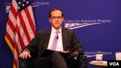 白宫国家安全委员会主管亚洲事务资深主任麦艾文 (美国之音钟辰芳)