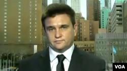 烏克蘭外交部長克利姆金 - 資料照片