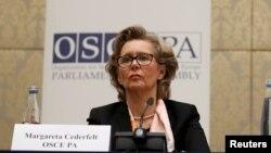 მარგარიტა კედერფელტი, ეუთოს საპარლამენტო ასამბლეის ვიცე-პრეზიდენტი და კრისტიან ვიგენინი, ეუთოს სპეციალური წარმომადგენელი