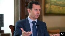 叙利亚总统阿萨德(资料图)