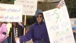 Gerakan Occupy Bank di California - Liputan Berita VOA 8 November 2011