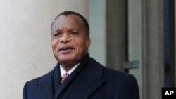 Denis Sassous Nguesso, président de la République du Congo
