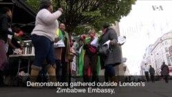Zimbabwe Events Trigger Joyful Demonstration in London