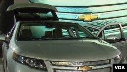 Chevy Volt, mobil listrik buatan GM, kini sudah tersedia bagi konsumen Amerika.