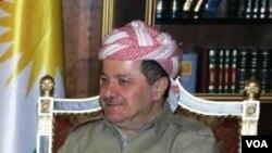 Serokê Herêma Kurdistana Îraqê Mesûd Barzanî