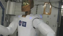 Robonaut 2 Does Its Chores on ISS
