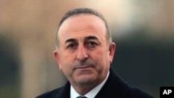 مولود چاووش اوغلو وزیر خارجه ترکیه - آرشیو
