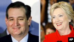 Cruz, Clinton, Sanders