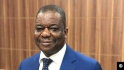 Mathurin de Chacus, nouveau président de la Fédération béninoise de football, le 19 août 2018.