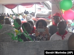 President Mugabe and First Lady Grace, At 92nd Birthday