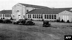 The school at New London, Texas, before the 1937 explosion