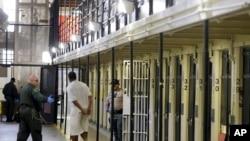加利福尼亚州圣昆丁监狱(资料照)