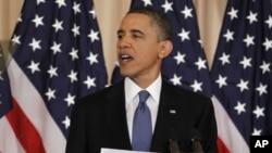 奥巴马总统就中东变革发表讲话