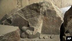 آثار تخریب شده باستانی در عراق به دست داعش - آرشیو