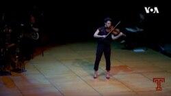 VOA英语视频: 小提琴手毕业演奏被取消 费城乐团帮她圆梦